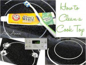 làm sạch bề mặt bếp của bạn