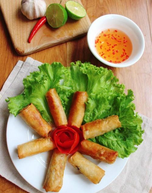 Cách làm nem rán tôm thịt cực ngon cho bữa cơm