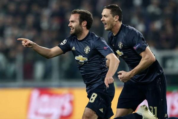 MU chiến thắng Juventus