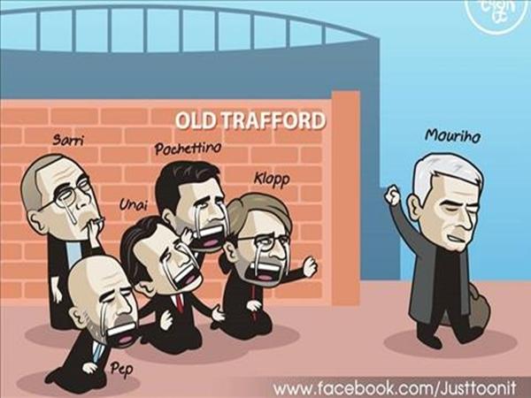 HLV Jose Mourinho lên tiếng sau khi bị M.U sa thải
