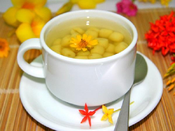Cách nấu chè hạt sen đậu xanh