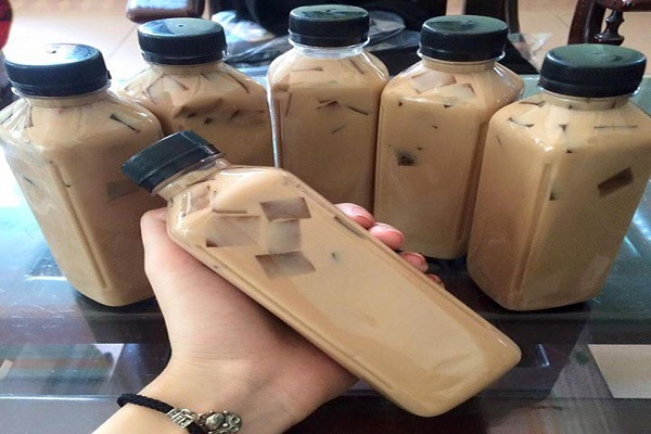 Cách làm trà sữa thạch rau câu ngon