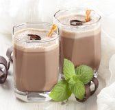 Cách làm trà sữa socola bạc hà