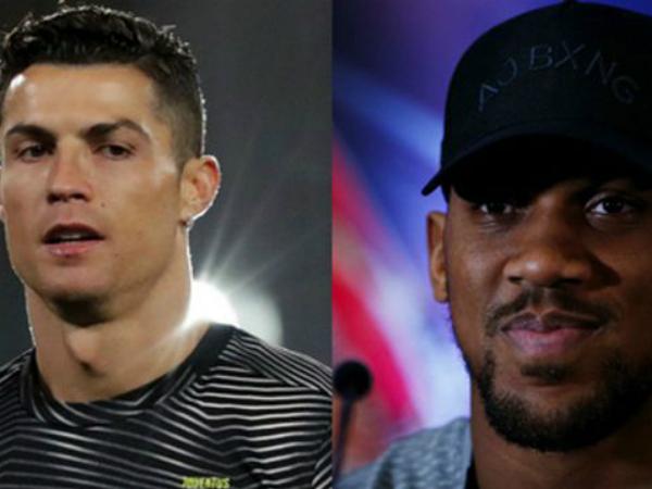 C.Ronaldo được Anthony Joshua khen ngợi giữa scandal hiếp dâm