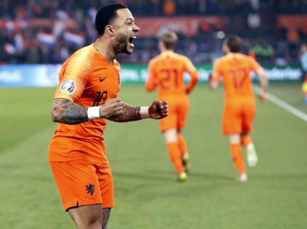 Hà Lan có chiến thắng 4-0 trận đấu ra quân vòng loại Euro 2020
