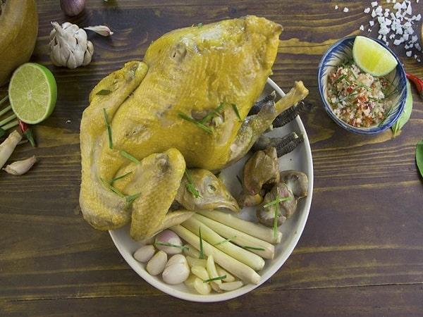 Cách làm món gà hấp muối ngon