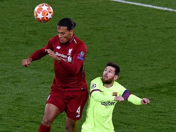 Messi - Ronaldo im tiếng: Van Dijk quá hay