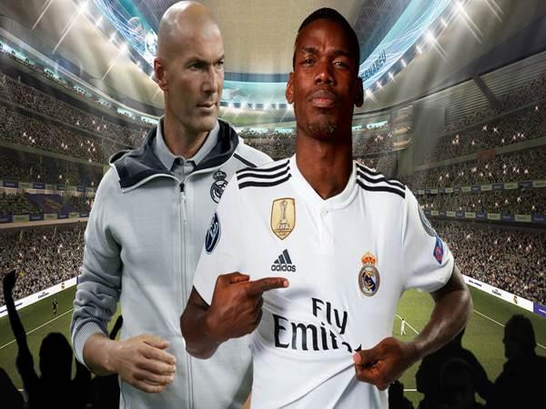 Real Madrid sẵn sàng mua đứt Pogba.