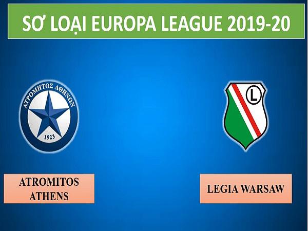 Soi kèo Atromitos vs Legia Warszawa, 23h00 ngày 14/08