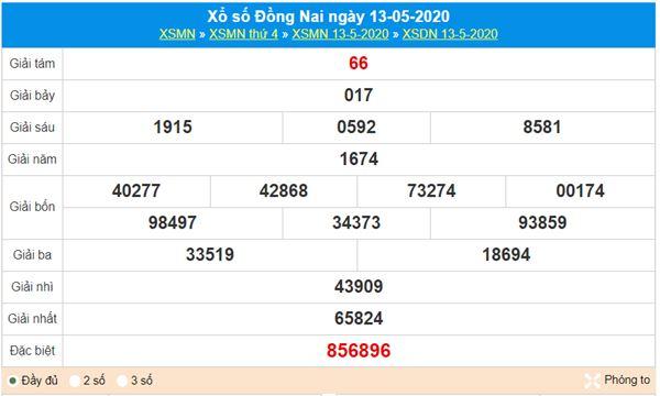 Dự đoán XSDNA 20/5/2020 - KQXS Đồng Nai thứ 4