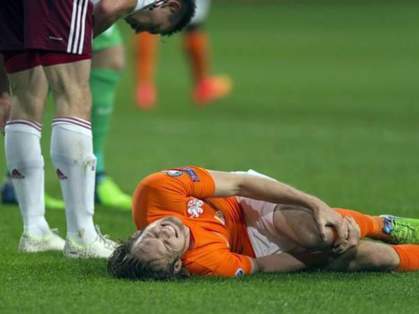 5 chấn thương trong bóng đá thường gặp nhất