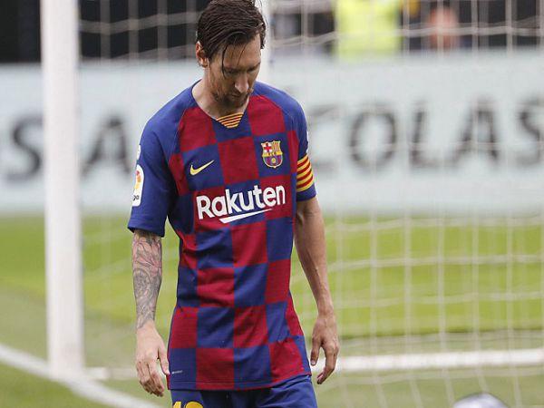 Messi lập kỷ lục tệ nhất với Barca sau hơn 10 năm