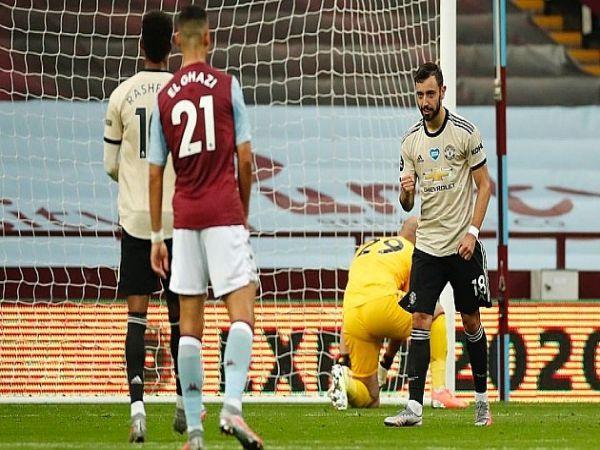 Thắng áp đảo trước Aston Villa, M.U áp sát top 4