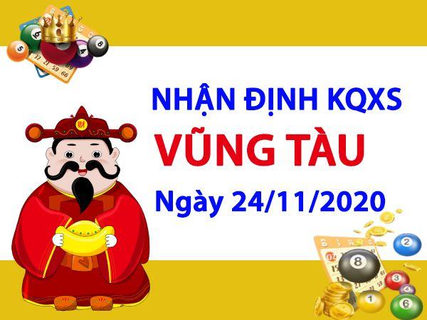 Nhận định KQXSVT ngày 24/11/2020