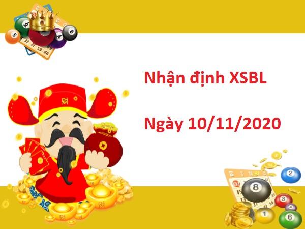 Nhận định XSBL 10/11/2020