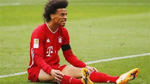 Sane lại gây thất vọng khi thi đấu cho Bayern