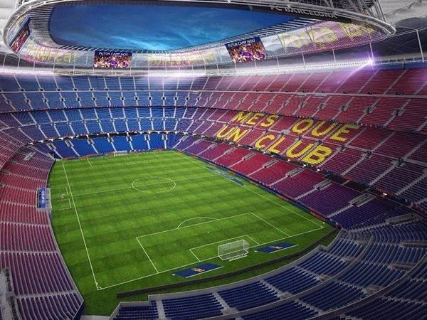 Ghé thăm top 5 sân vận động đẹp nhất thế giới