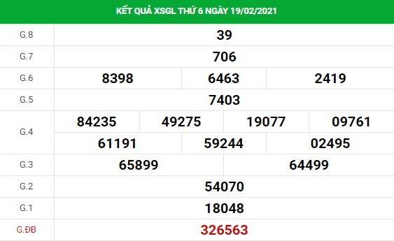 Soi cầu XS Gia Lai chính xác thứ 6 ngày 26/02/2021