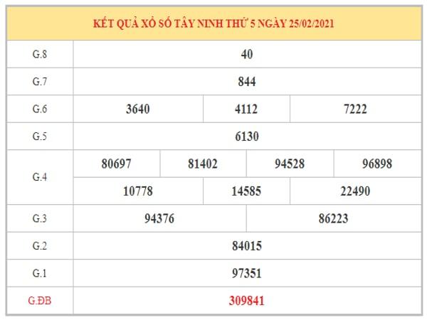 Thống kê KQXSTN ngày 4/3/2021 dựa trên kết quả kỳ trước