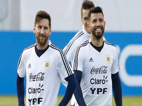 Bóng đá QT 1/4: Messi thúc giục Barca ký Sergio Aguero