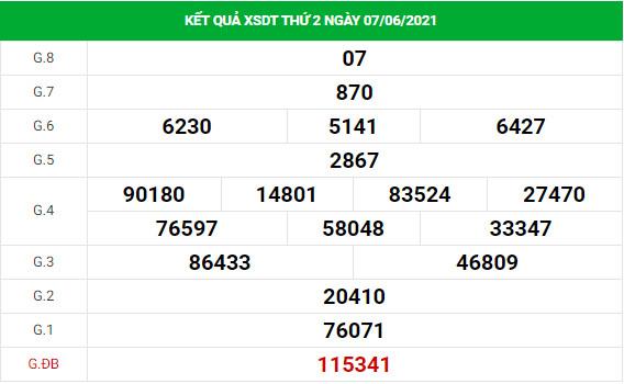Soi cầu XS Đồng Tháp chính xác thứ 2 ngày 14/06/2021
